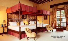 Cama hotel Son Net en Mallorca
