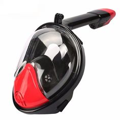 Snorkel Dry Mask with GoPro Mount