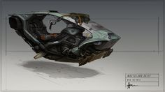 Wasteland Skiff by Hazzard65.deviantart.com on @deviantART