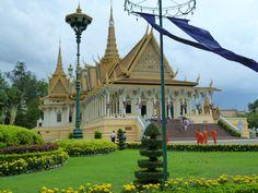 Silver Pagoda, Royal Palace - Phnom Pehn, Cambodia
