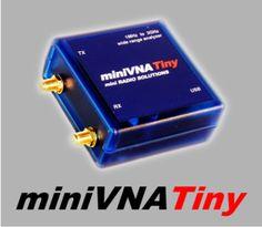 mRs mini Radio Solutions produce Pc based vector network antenna analyzer, Minivna pro, Minivna tiny, Extender,