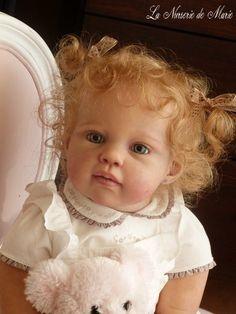 Reborn baby girl, doll, PROTOTYPE Louisa, Jannie de Lange, toddler | eBay
