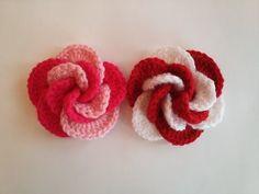 Tığ İşi Gül Yapımı - Crochet Flower - YouTube