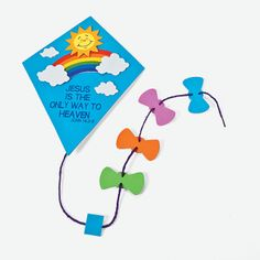 Inspirational Kite Door Sign Craft Kit - OrientalTrading.com