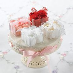 Rose Soap Favors by Beau-coup