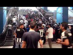 Beşiktaş Fenerbahçe Maçı Metrodan çıkış (27 Eylul 2015)