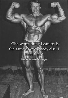 Arnold on Being Different...