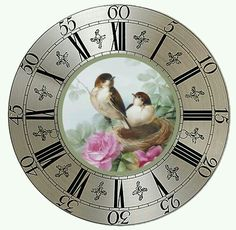 Clock Faces, Pine Cone Crafts, Watch Faces, Clocks, Diy And Crafts, Clip Art, Templates, Dolls, Projects