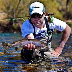 Trout fishing, by Pe