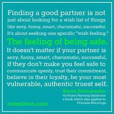 Finding a good partner..