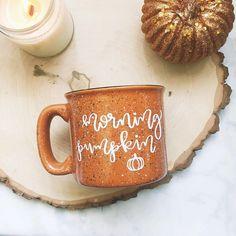 Morning Pumpkin / Autumn / Fall / Campfire Mug