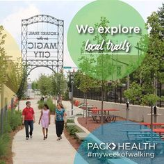 We're taking a walk on Birmingham's new Rotary Trail!  Go to your local trail or park for a walk #PACKhasyourBACK #MyWeekOfWalking #gethealthy #giveaway #walking #goteam #RotaryTrail • • • • •  What to do: 1. FOLLOW us @packhealth and like us on Facebook 2. Take a picture of you walking and tag @packhealth and #PACKhasyourBACK 3. TAG 2 friends