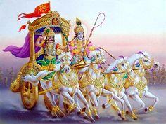 Krishna Arjun Wallpapers and Photos Arte Krishna, Krishna Hindu, Bal Krishna, Lord Shiva Painting, Krishna Painting, Lord Krishna Images, Krishna Photos, Sanskrit, Krishna Tattoo