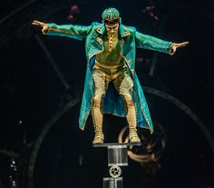 The latest big-top show from Cirque du Soleil opens Aug. Ballet Boys, Cool Costumes, Costume Ideas, Big Top, Dieselpunk, Costume Design, Steampunk, Statue, Inspiration