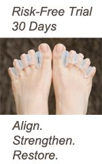 Correct Toes help to align, strengthen, and restore your feet and put them back into the natural position they were meant to be in. Use them for bunions, hammer toes, plantar fasciosis (faciitis), and many more common foot problems.