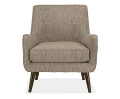 Quinn Chair & Ottoman in Meta Fabric - Chairs - Living - Room & Board  if all else fails with chairs....