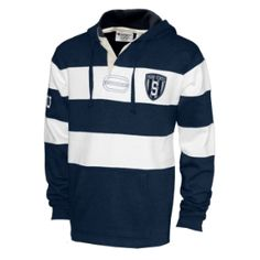 Penn State Champion Rugby Striped Hood - totally cool. We love the shield.