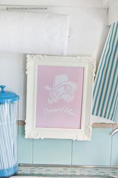 Seattle photographer Tiffany Kirchner-Dixon with a super cute blog aptly titled The Fancy Farm Girl received the 1959 trailer nicknamed Audree as a Mother's day gift this year, and began with the mere intention of sprucing it up.