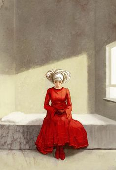 The Handmaid's Tale - illustrated by Erin McGuire. Not sure if I should put this in art or books.