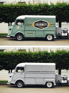 Food Truck Mockup PSD to present your branding design in a photorealistic look. This free PSD mockup file very easy to edit. Food Logo Design, Food Truck Design, Logo Food, Citroen H Van, Vehicle Signage, Best Food Trucks, Food Park, Coffee Truck, Coffee Box