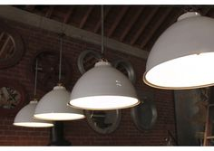 INDUSTRIAL LIGHTS    * Dimensions do not include drop pipe    Product Code: 1751  Height: 19 inches  Diameter: 24 inches  Retail Price: $720.00