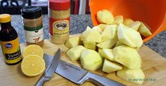 Clean Eat Recipe :: Cinnamon Vanilla Applesauce