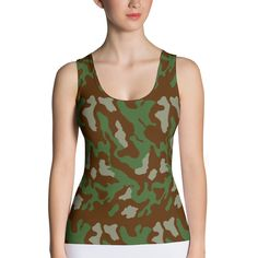 Italy 1929 Summer CAMO Sublimation Cut & Sew Tank Top