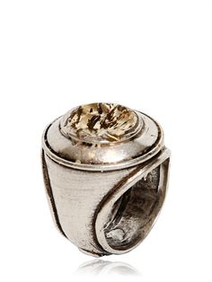 MAISON MARTIN MARGIELA  VINTAGED BRASS RING  ITEM CODE 57I-LAJ001