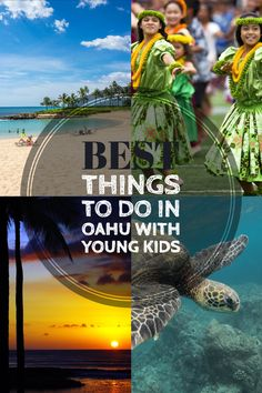 10 Best Things to do in Oahu with Toddlers & Preschoolers of the Best Things to do in Oahu with Young Kids & Things to do in Oahu with [& Hawaii Vacation, Oahu Hawaii, Hawaii Travel, Beach Trip, Travel Usa, Vacation Ideas, Beach Travel, Travel Tips With Toddlers, Toddler Travel
