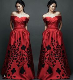Handpainted gowns - collaboration between fashion designer, Mark Bumgarner and artist, Love Marie.
