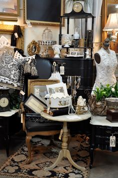 A Black And Neutral Display