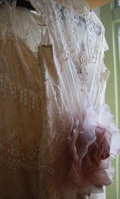 Claire Pettibone 'Mystere' wedding gown