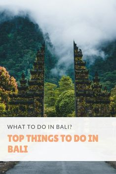 What to Do in Bali Top Things to Do in Bali. Bali Indonesia | Heading to Bali and now what to do in Bali ? Here is a short guide on things to do in Bali to your trip itinerary. Indonesia | Bali | Culture | History | Island | Travel Guide | Bali Indonesia beaches | Bali Indonesiatravel   #bali #BaliDestination #indonesia