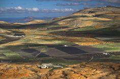 widok z Montana de Guanapay w obiektywie Wojtka