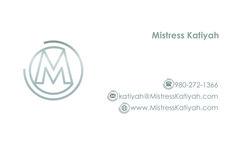 Contact Mistress Katiyah at www.MistressKatiyah.com