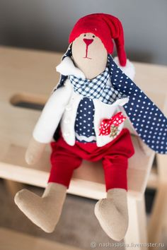 Honey Bunny Bruni, textile toy – shop online on Livemaster with shipping