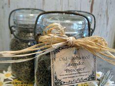 old fashioned lavender preserves vintage by AntiqueShopGirl, $18.00