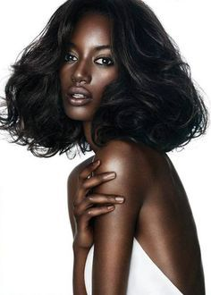 why are dark skin women so beautiful... can't help it!!
