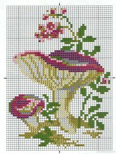 Cross Stitch Fruit, Cross Stitch Needles, Cross Stitch Flowers, Cross Stitch Charts, Cross Stitching, Cross Stitch Embroidery, Embroidery Patterns, Modern Cross Stitch Patterns, Cross Stitch Designs