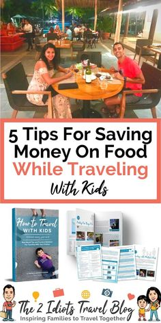 Family travel planning includes planning what you're going to eat while you travel! Here's how to save money on food while you travel with your kids. Find these money saving travel tips here! Family Vacation Spots, Family Road Trips, Family Travel, Family Vacations, Flying With A Toddler, Travel Tips, Travel Hacks, Travel Ideas, Budget Travel