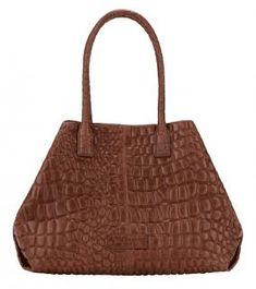 Shopper Liebeskind MALA braun Krokoprägung Malibu L.A. - Bags & more