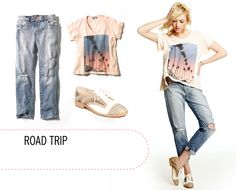 Road Trip style (comfort is key).
