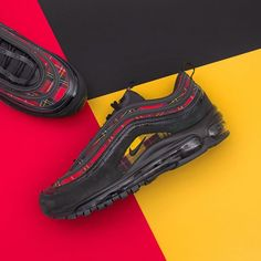 new arrival bc09e ede85 Nike Wmns Air Max 97 SE Tartan - AV8220-001 •• Online nu på www.footish.se.  Link in bio.  nike  airmax97  tartan  footish