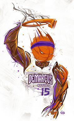 DeMarcus Cousins Monster Dunk