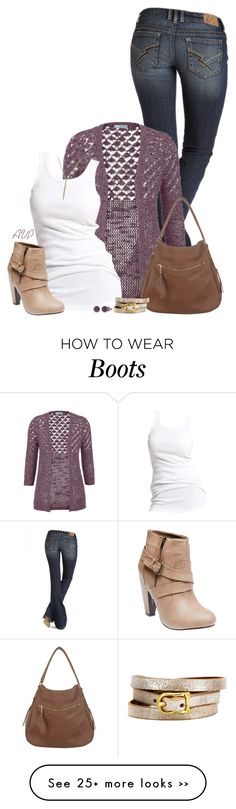 """""""Buckle Strap Heeled Booties"""" by amy-phelps on Polyvore featuring maurices, Miss Selfridge, Soaked in Luxury, Effy Jewelry, Michael Kors and Wet Seal"""