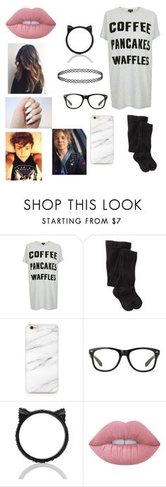 """sleep over with your boyfriend ashton irwin💜"" by briannacliffs ❤ liked on Polyvore featuring Topshop, Smartwool, Kate Spade and Lime Crime"