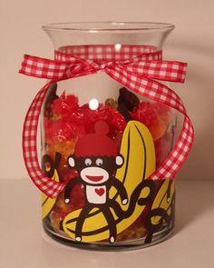 sock monkey jar