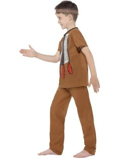 Native Indian Warrior Kids Costume. Cowboys costumes, Indian costumes, American theme costumes, cow boy costumes. Next day delivery from Sydney Australia