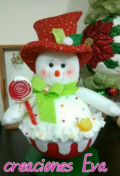 Christmas Sewing, Christmas Crafts, Christmas Decorations, Xmas, Christmas Ornaments, Holiday Decor, Fabric Wreath, 242, Snowman Crafts