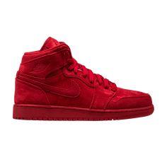 8783efa9b22 Air Jordan 1 Retro High BG  Red Suede  - Air Jordan - 705300 603